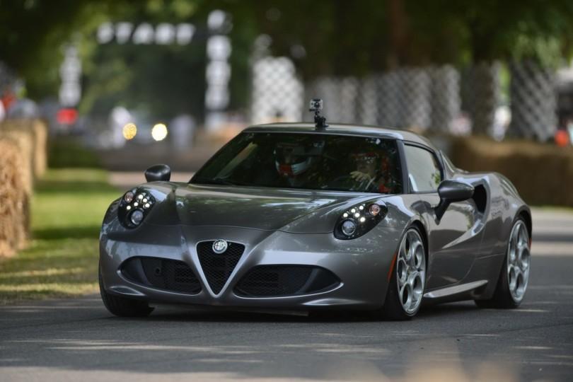 Alfa Romeo 4C Goodwood