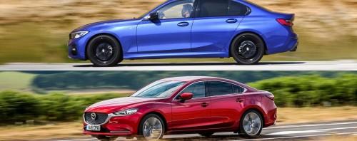 Δοκιμή BMW Σειρά 3 και Mazda6: Ιάπωνας ή Γερμανός;