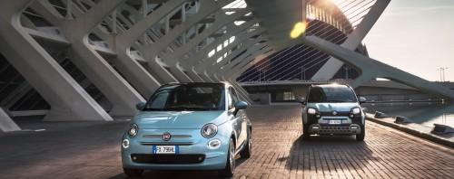 Οδηγούμε τα Fiat 500 & Panda Hybrid