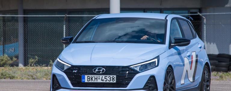 Hyundai i20 N: Το δοκιμάζουμε στην πίστα των Μεγάρων
