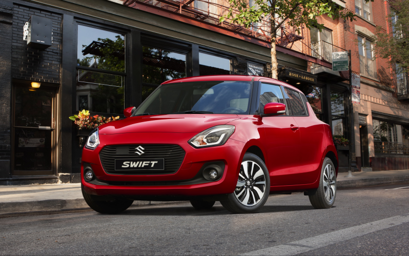 SWIFT 5d 1.2 GL+ 90hp CVT AUTO