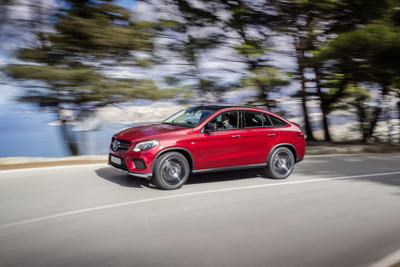 GLE COUPE 350 d 4MATIC