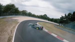 Η Ford Mustang ντριφτάρει στο Nurburgring