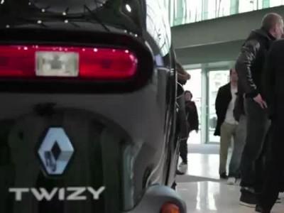 Renault XV Twizy test