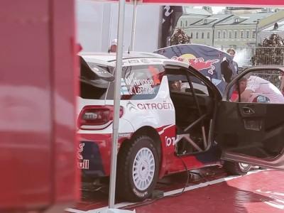 Citroën WRC 2012 - Mikko Hirvonen @ Moscow City Racing