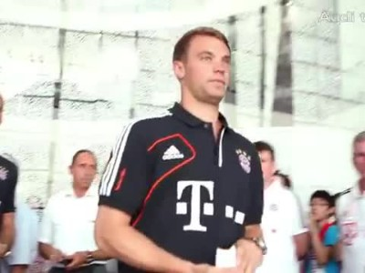 AUDI: NEW CARS FOR FC BAYERN PLAYERS
