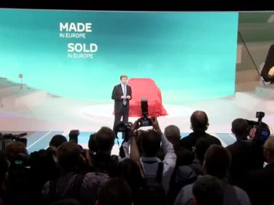 Toyota Press Conference Paris Motor Show 2012