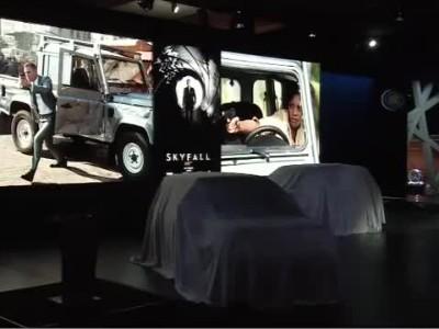 Land Rover- 2012 Paris Motor Show Press Conference