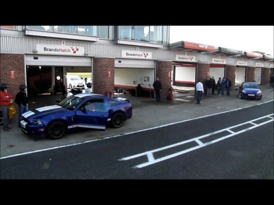 Ford Mustang Shelby GT500 @ Brands Hatch 2012