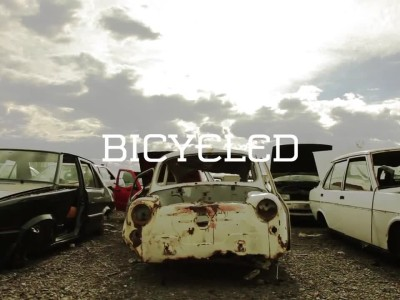 Bicycled - A bike made out of cars