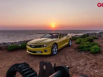 Chevrolet Camaro Cabrio Time Lapse