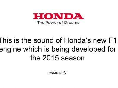 Honda Fires new F1 Engine for the First Time_2013