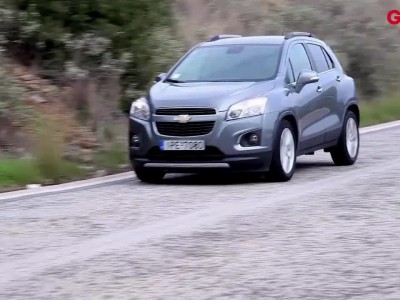 Chevrolet TRAX GOCAR TEST DRIVE