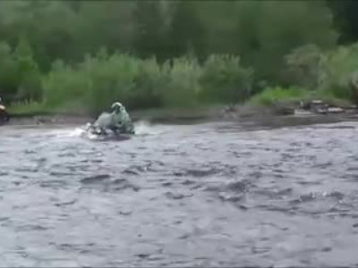 How to Cross a River with a Motorcycle