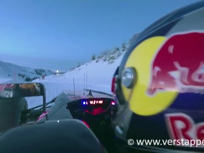 Max Verstappen F1 Snow Demo Red Bull RB7 Part 4