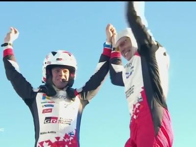 Rally Sweden 2017 Latvala wins