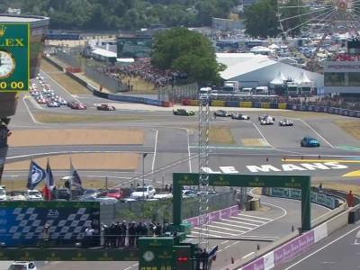 24 hours Le Mans 2017 Start
