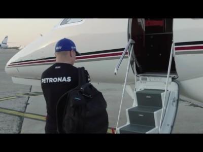 Valtteri Bottas private jet