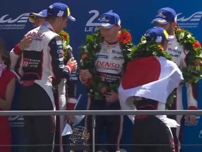Alonso wins 24h Le Mans 2018