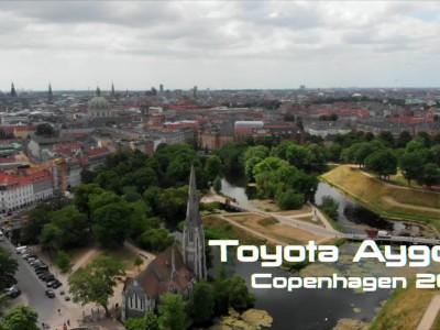 Toyota Aygo facelift στην Κοπεγχάγη