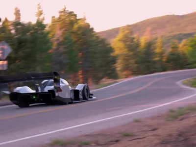 Volkwagen ID R Pikes Peak qualifying
