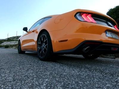 Με τη νέα Ford Mustang 2.3 Ecoboost (G.S.)