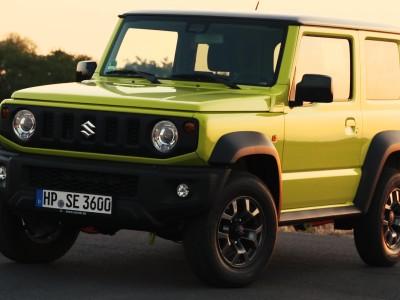 Suzuki Jimny trailer 2018