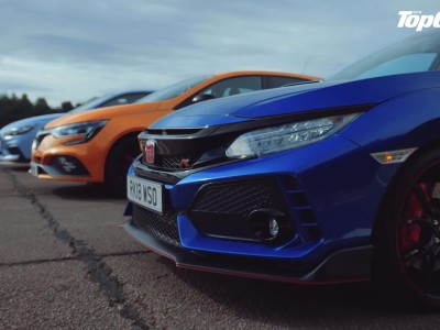 Honda Civic Type R vs Hyundai i30 N vs Renault Megane RS