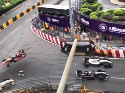 Τρομακτικό ατύχημα στον αγώνα FIA F3 στο Macau