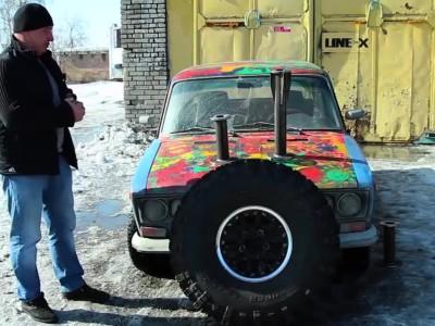 Ένα πολύ ιδιαίτερο Lada