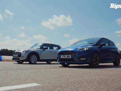 Ford Fiesta ST εναντίον 5θυρου MINI Cooper S