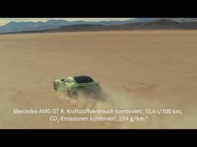 Τυφλός οδηγεί μια AMG GT R