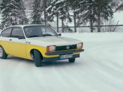 Τα Opel του χθες και του σήμερα παίζουν στα χιόνια