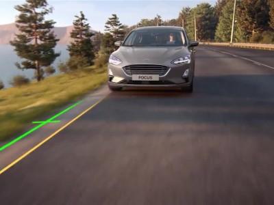 Ford Focus - Lane-Centring