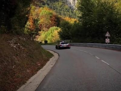 Η θεαματική ανάβαση του Sebastien Loeb με το αγαπημένο του Peugeot 208 T16