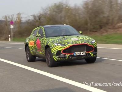 Aston Martin DBX στο Nurburgring