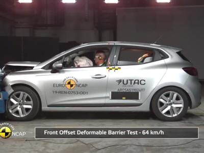 Δοκιμή Euro NCAP Renault Clio 2019