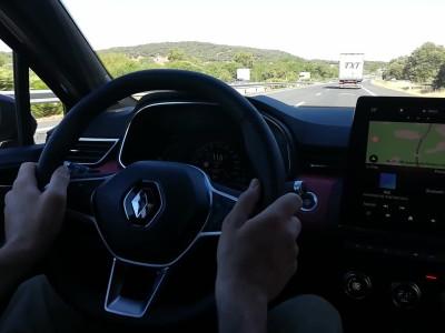 Renault Clio 2019 - Σύστημα ημιαυτόνομης οδήγησης Μέρος 2