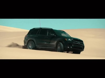 Mercedes-Benz GLS 2019 - Extreme desert test drive