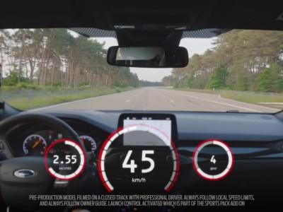 0-100 km/h του νέου Ford Focus ST