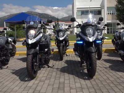 Τα νέα SUV και οι μοτοσικλέτες που ενισχύουν τον στόλο της ΕΛ.ΑΣ.