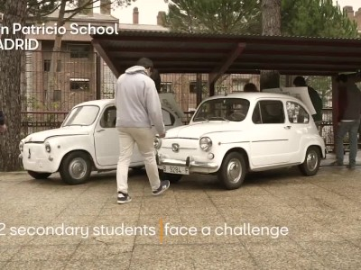 Μαθητές μετέτρεψαν ένα βενζινοκίνητο Seat 600 σε ηλεκτρικό