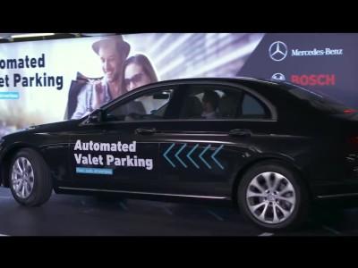 Αυτόνομο παρκάρισμα από την Mercedes-Benz