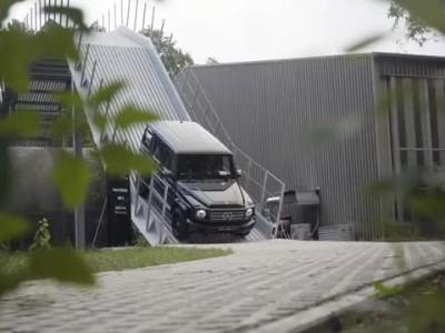Όταν η Mercedes-Benz G-Class συνάντησε το Unimog