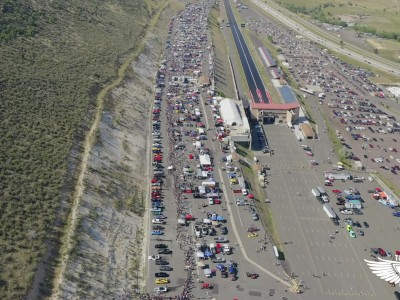Burnout από 170 αυτοκίνητα