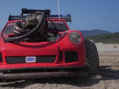 Porsche Power Wheel με μοτέρ από KTM 450