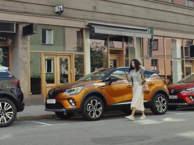 Νέο Renault Captur: Last mile navigation