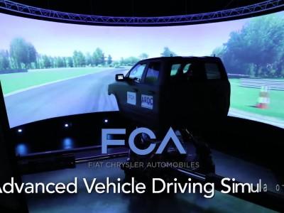 Με τον προσομοιωτή των 10,1 εκ. δολαρίων νομίζεις πως οδηγείς!