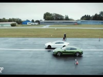 Κόντρα Porsche Taycan εναντίον Tesla Model S