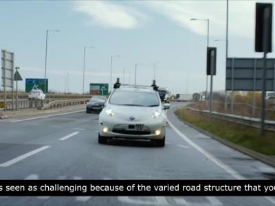 Αυτόνομο ταξίδι από το Nissan Leaf στη Μ. Βρετανία